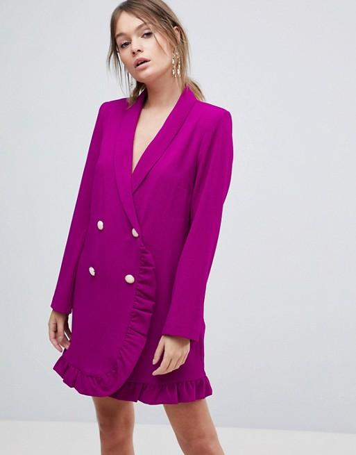 blazer morado